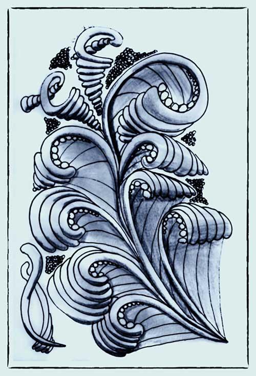 Zentangle #108