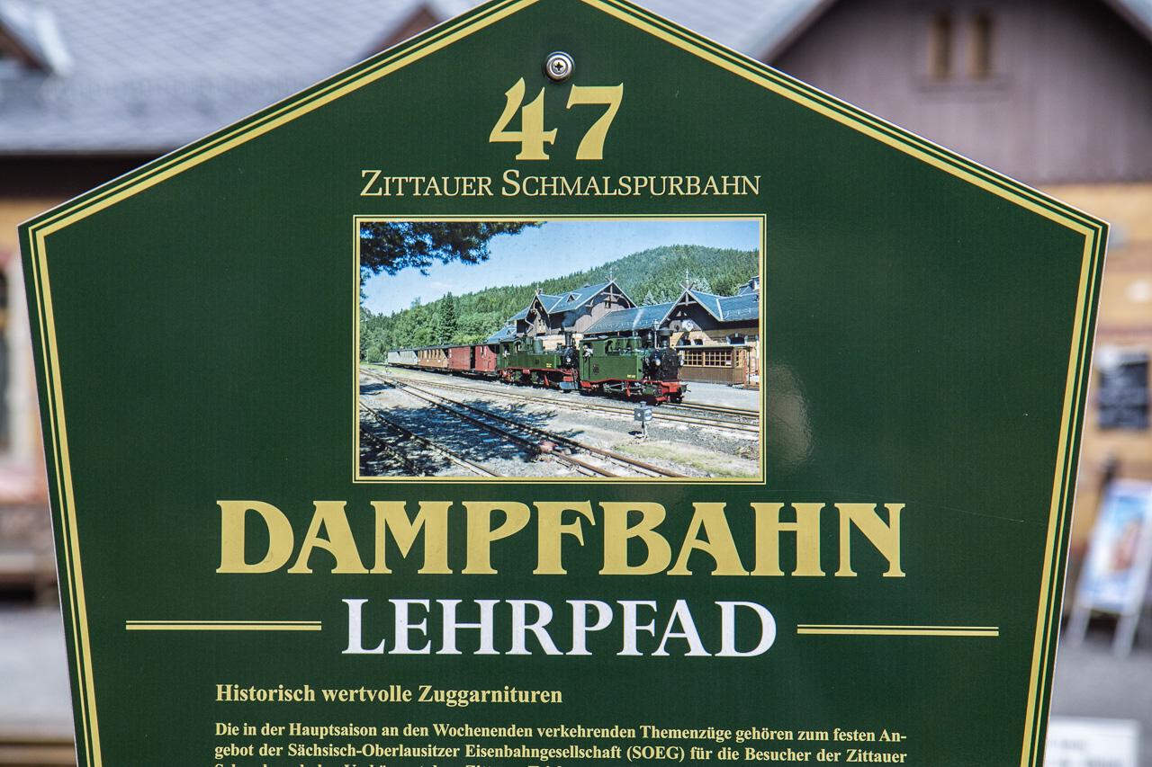 Oybin - Dampfbahn