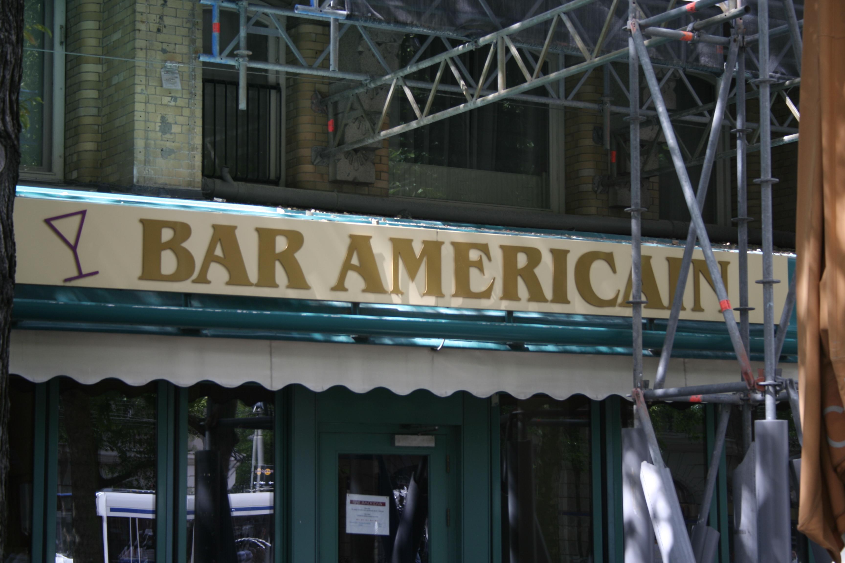 Amsterdam Bar Americain