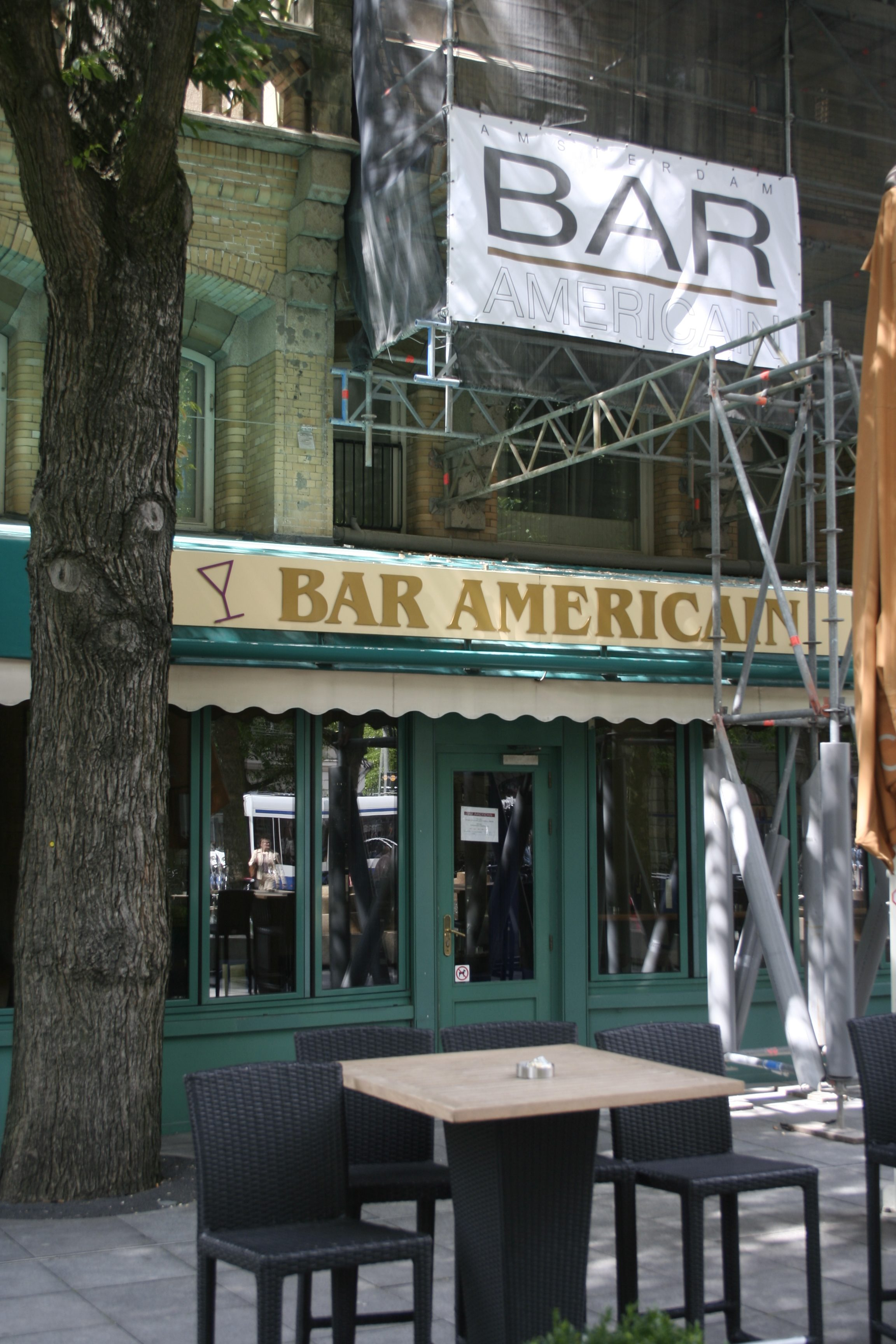 Amsterdam-Bar Americain