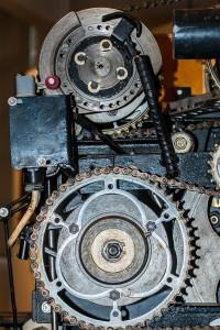 Kettensägen Schärf- und Schrenkmaschine